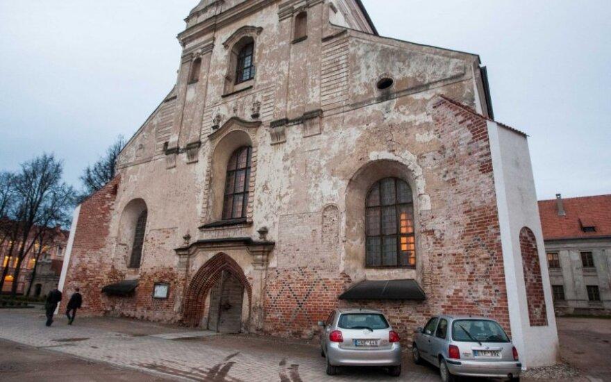 Okradziono kościół franciszkanów w Wilnie