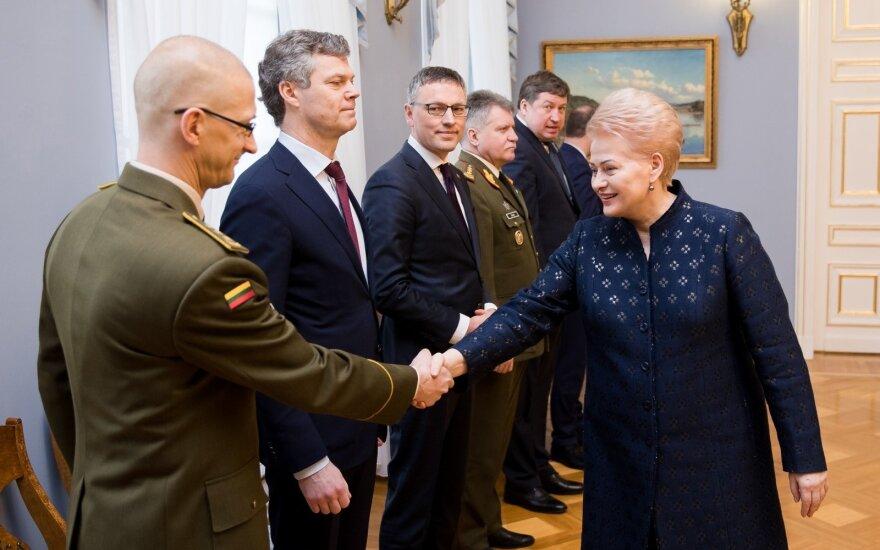 Государственные награды Литвы получили генсекретарь НАТО и представители правоохраны