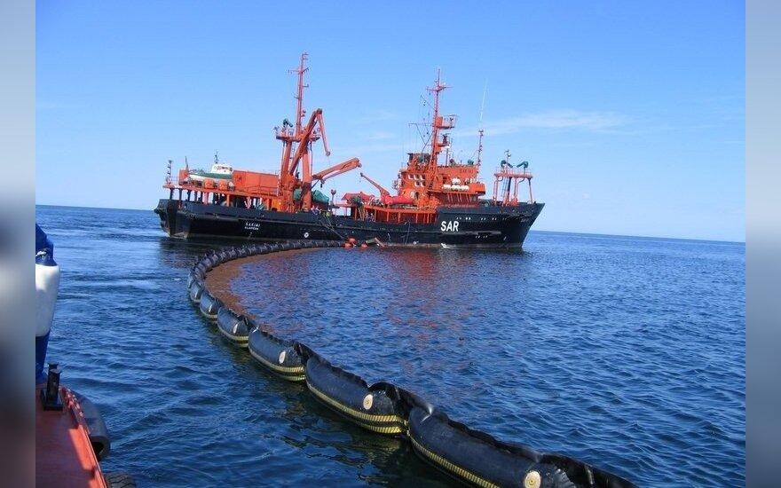 """Paieškos ir gelbėjimo bei  teršalų likvidavimo laivas """"Šakiai"""""""
