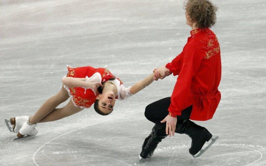 Natalija Zabijako ir Aleksandras Zabojevas
