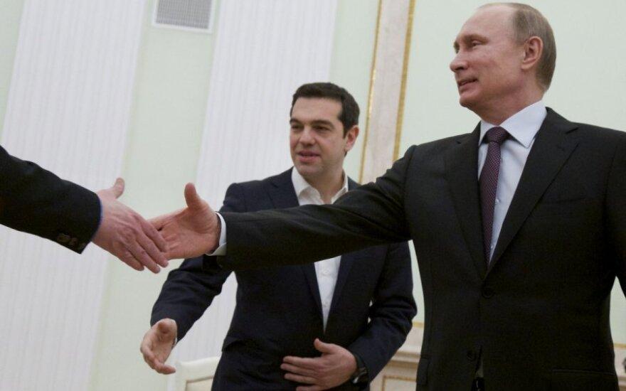 Vladimiras Putinas ir Alexis Tsipras