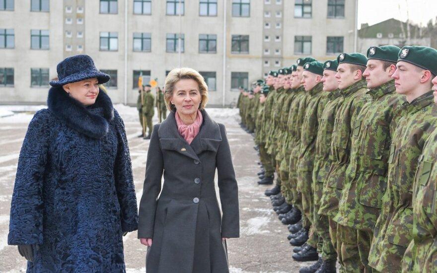 Литва официально приняла батальон НАТО для сдерживания России
