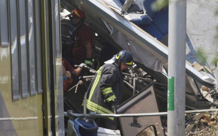 Traukinių avarija Italijoje