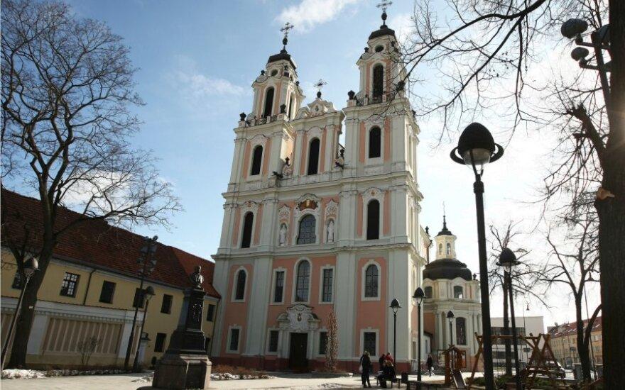 Nielegalny taras przy kościele Św. Katarzyny