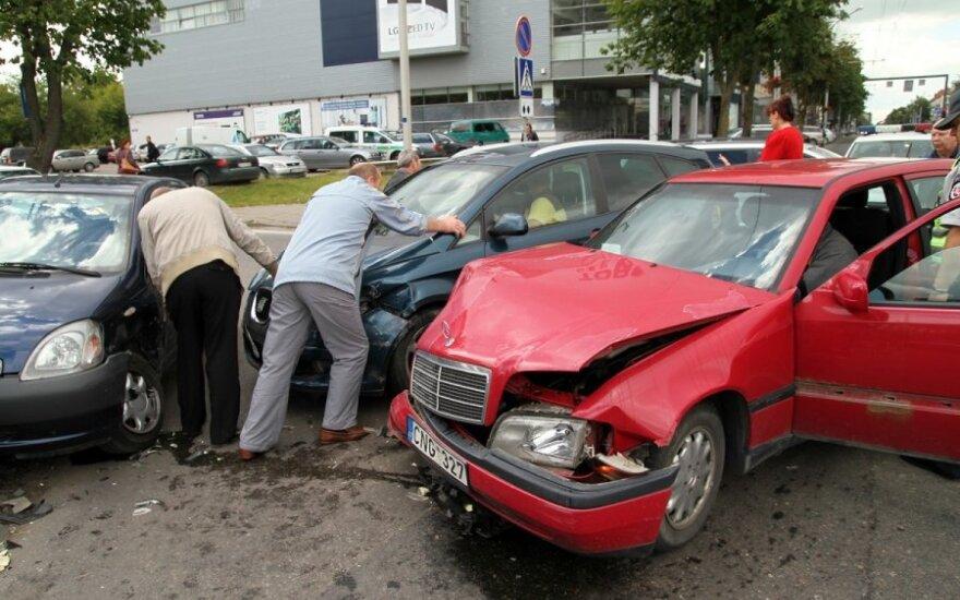 В Каунасе в ДТП пострадали два человека
