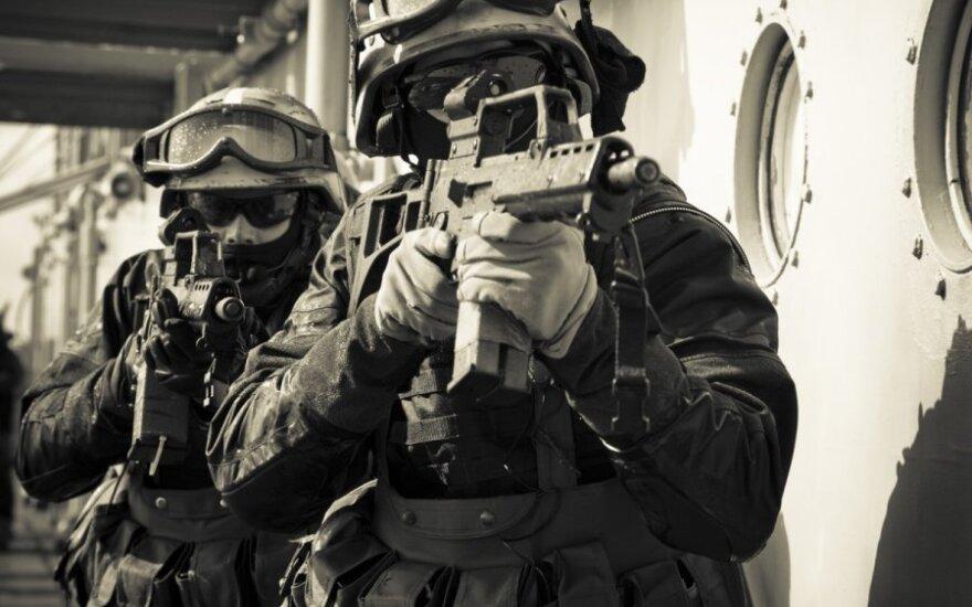 Судно ВМС Литвы впервые участвует в учениях в Средиземном море