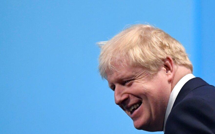 Borisas Johnsonas išrinktas naujuoju JK ministru pirmininku