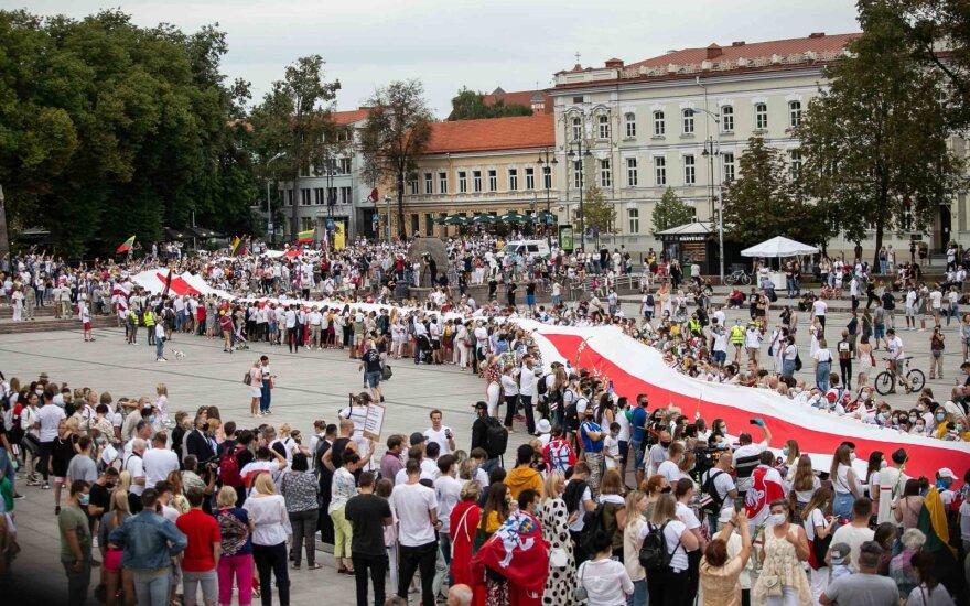 """Участники """"Пути свободы"""": это продолжение борьбы, которая 30 лет назад началась в Литве"""