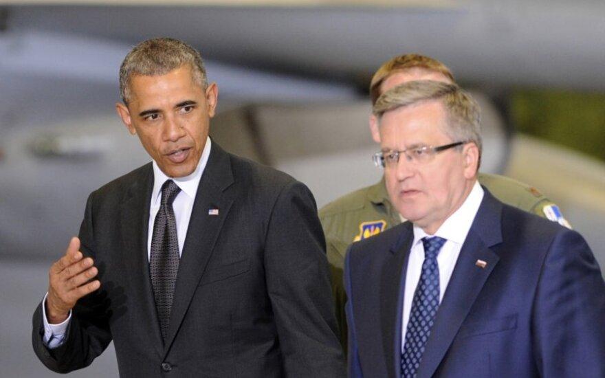 Barackas Obama, Bronislawas Komorowskis