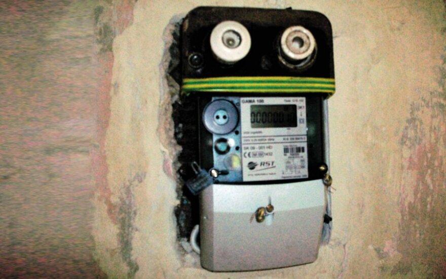 Ar taip pakeistas ir paliktas elektros skaitiklis atitinka visus saugumo technikos reikalavimus?