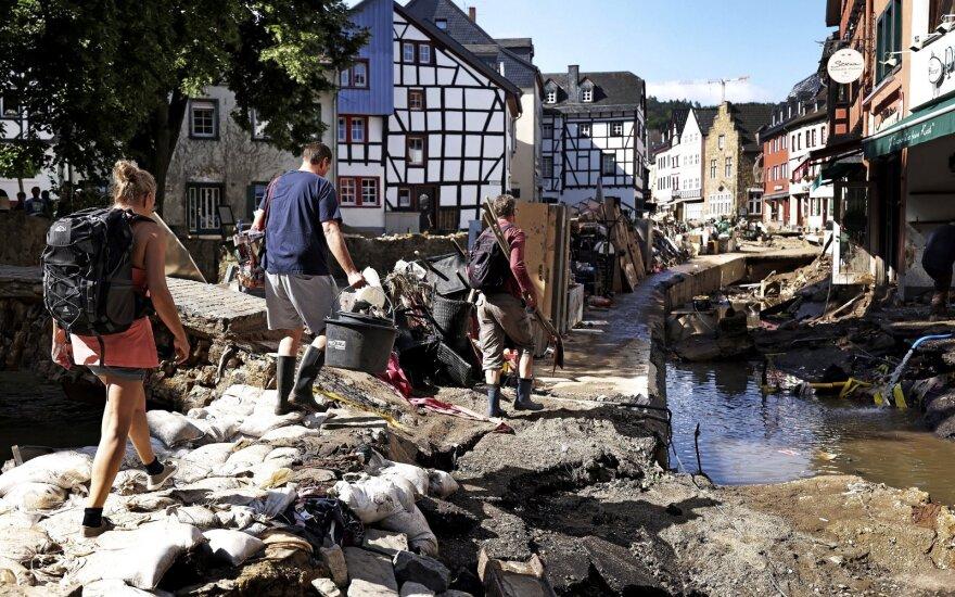 В Германии оценили колоссальный ущерб от наводнения