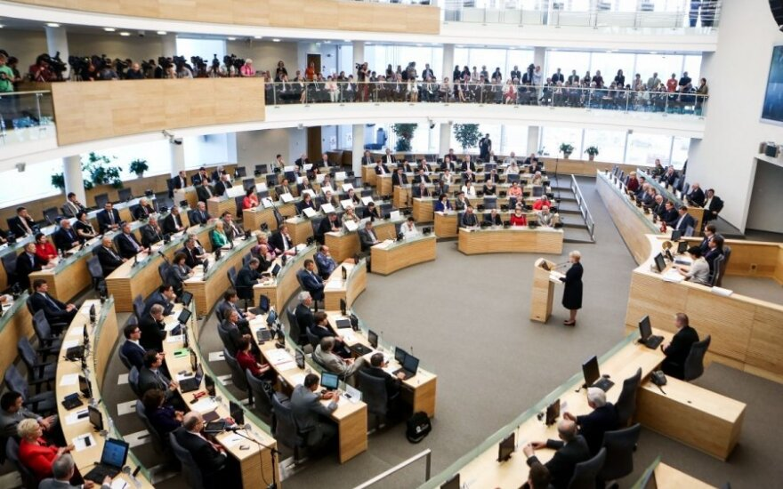 Расходы на парламентскую деятельность членам Сейма пока не увеличат