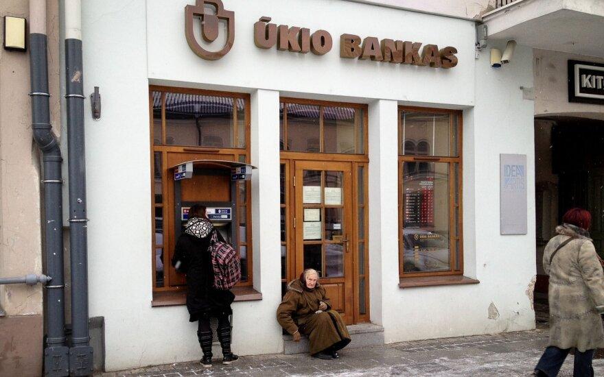 Прокуроры завершили расследование о разбазаривании имущества Ukio bankas