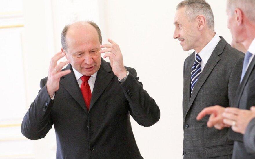 Andrius Kubilius ir Arvydas Sekmokas