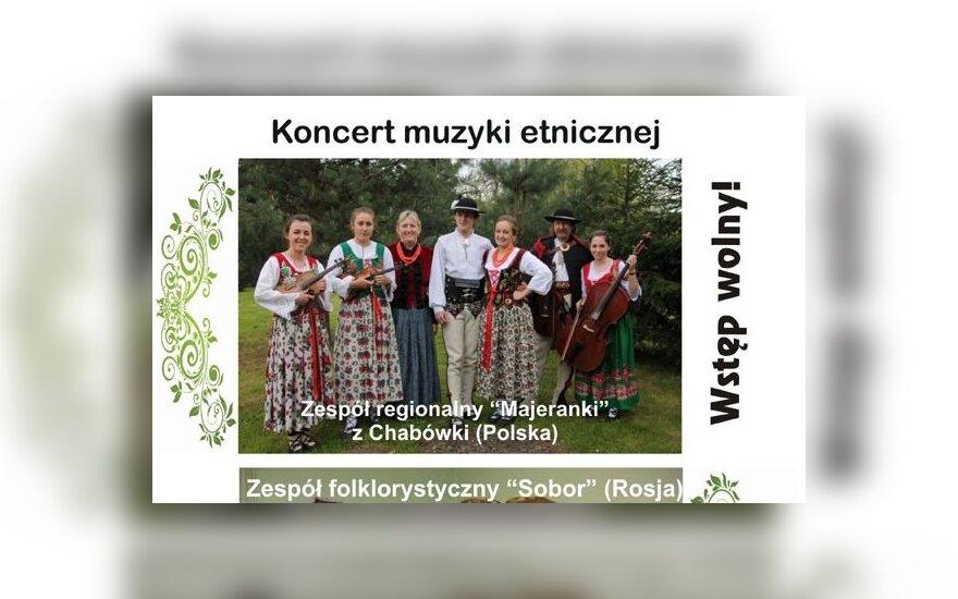 Koncert muzyki etnicznej