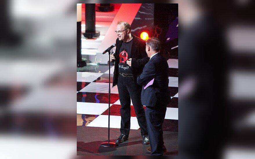 Saulius Drunga apdovanojimų ceremonijoje Maskvoje