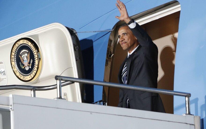 Barackas Obama atvyko į Berlyną