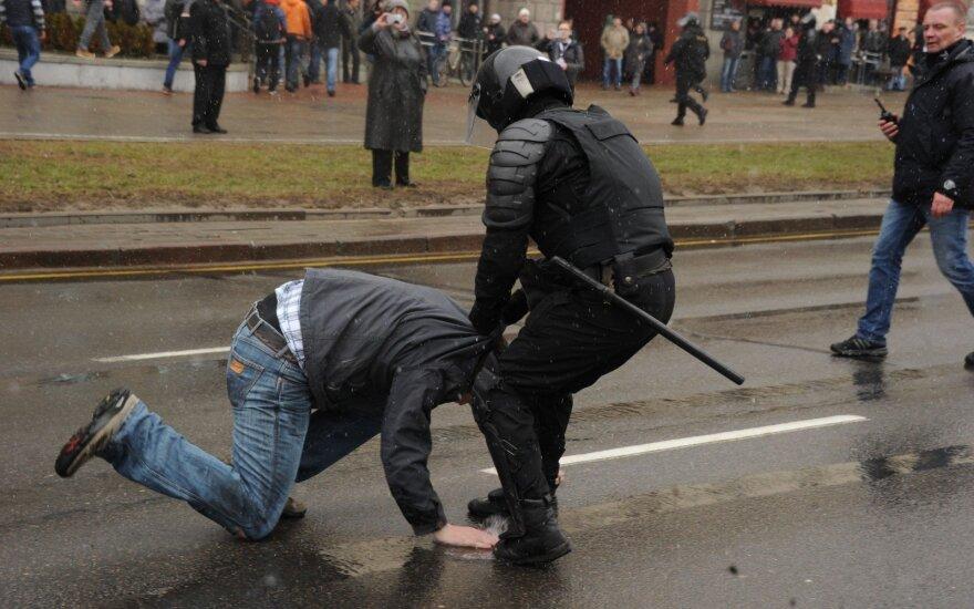 Минск, массовые задержания