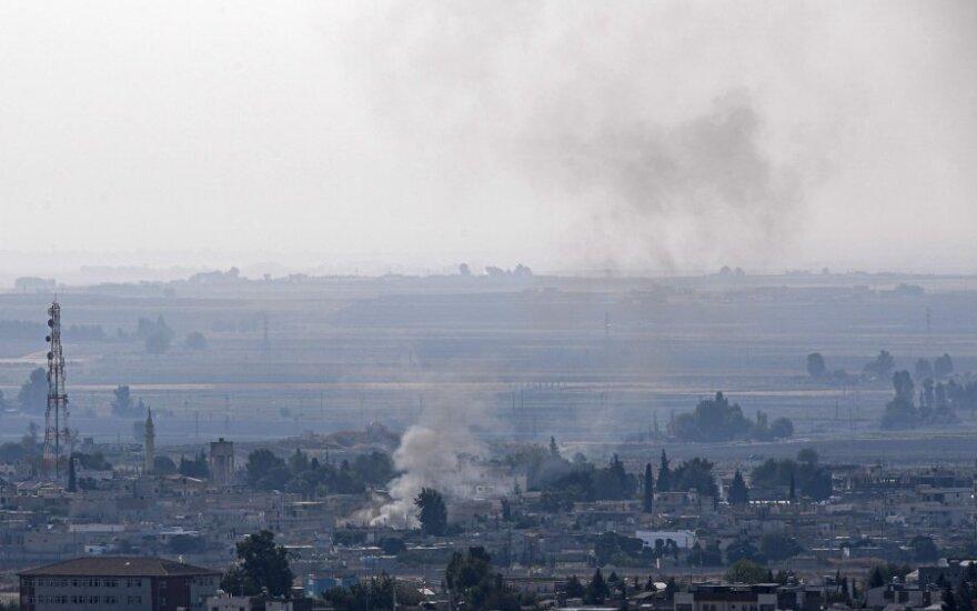 Susirėmimai Sirijos-Turkijos pasienyje
