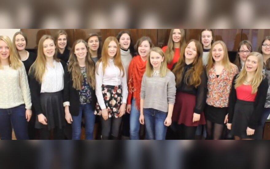 Klasa 1A Gimnazjum im. Jana Pawła II w Wilnie
