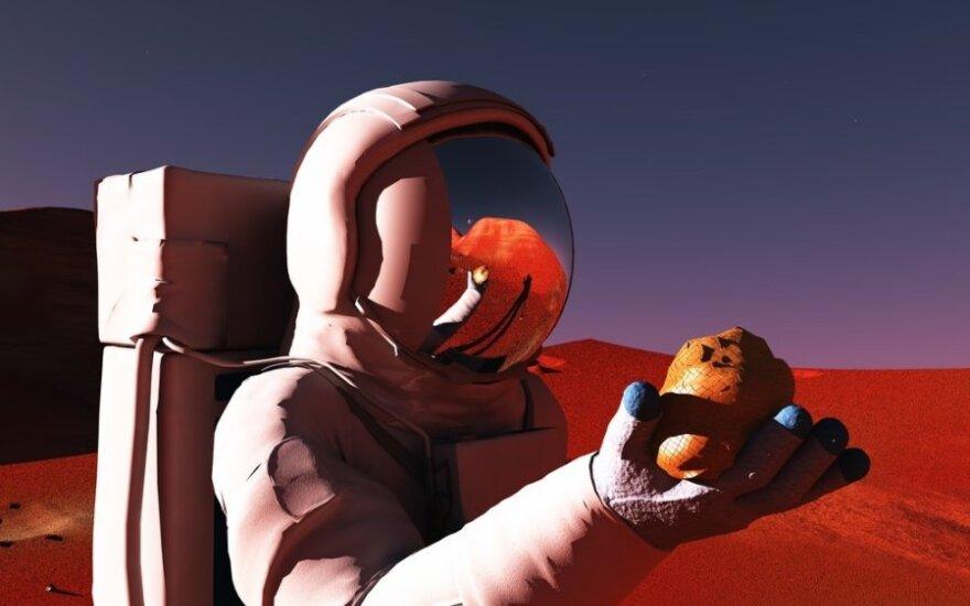 Kto się wybiera na Marsa?