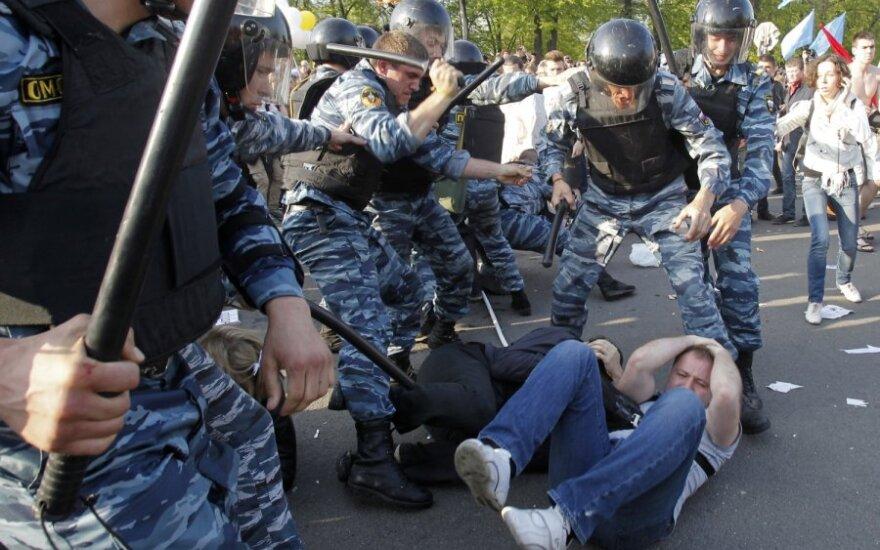 Эксперт: разгон демонстрации в Москве не похож на минские события