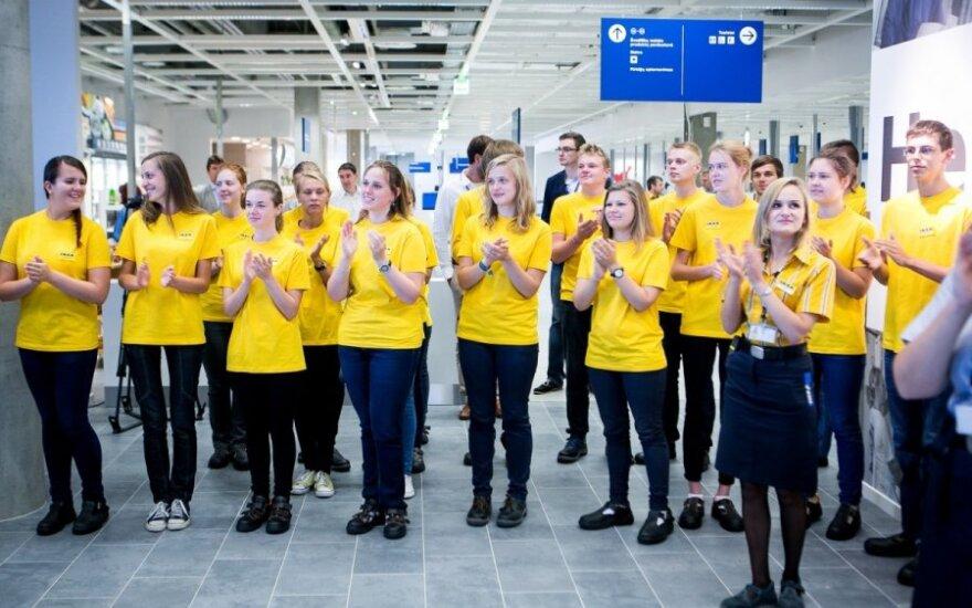 Выяснилось, как магазин Ikea выбирал работников в Литве