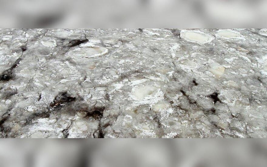 Обнадеживающее известие: на Нерис у Лапес тронулся лед