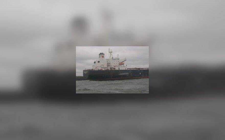 В Таллиннском заливе сел на мель танкер Kyeema Spirit
