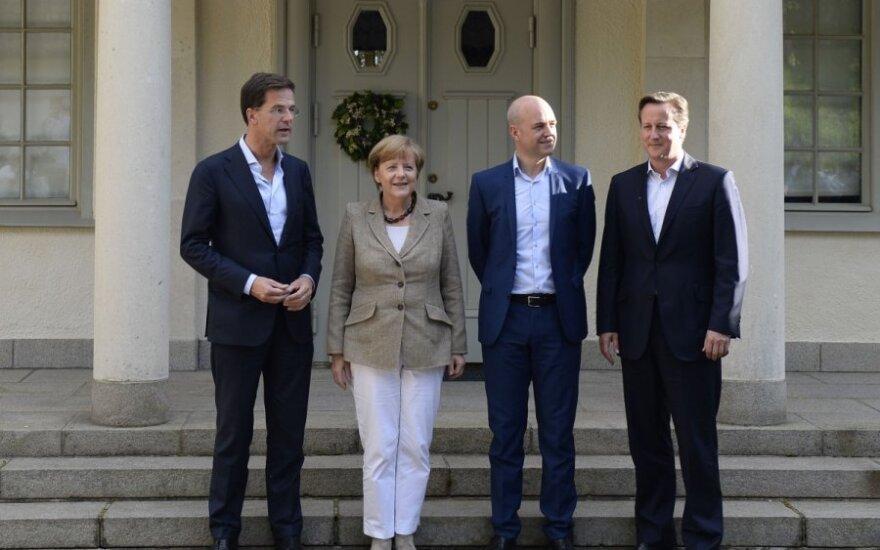 Кэмерон и Меркель спорят о новом главе Еврокомиссии