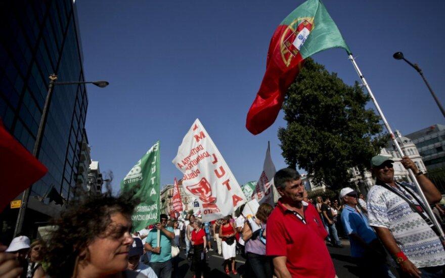 Protestai Portugalijoje