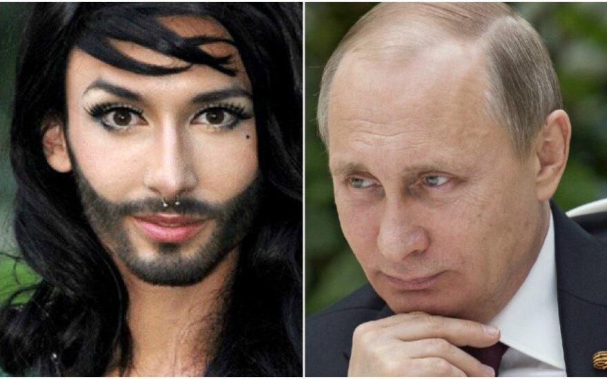 Кончита Вурст хочет встретиться с Путиным