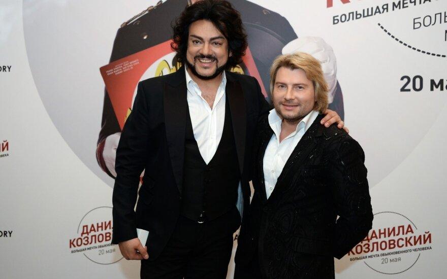 Киркоров, Басков и другие российские артисты записали клип в поддержку Лукашенко