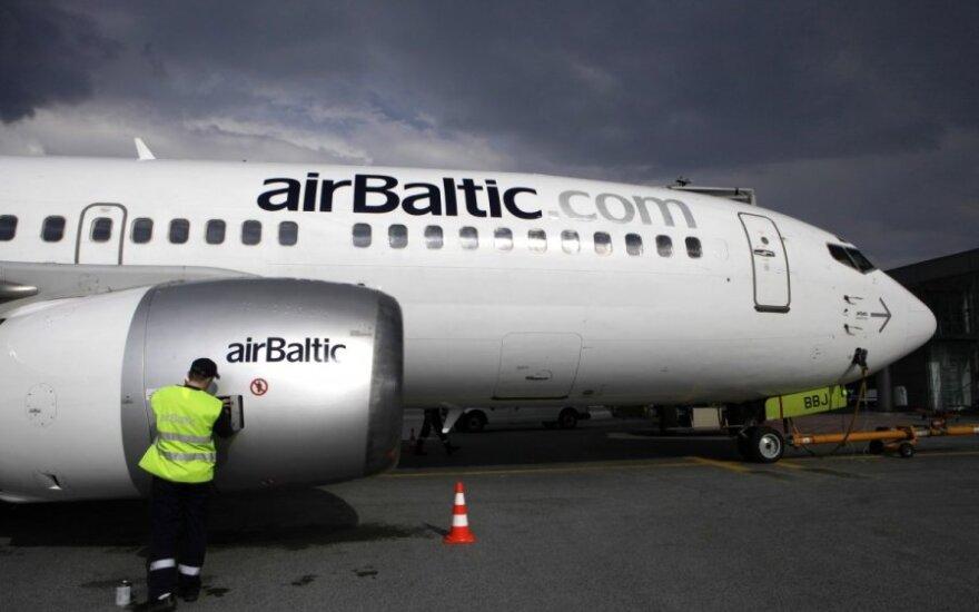 Полеты Air Lituanica до 5 июня перенимает Air Baltic