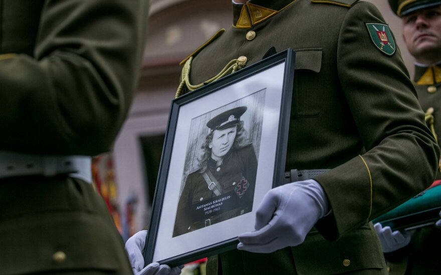Lietuvos laisvės kovos sąjūdžio dalyvio Antano Kraujelio - Siaubūno laidotuvės