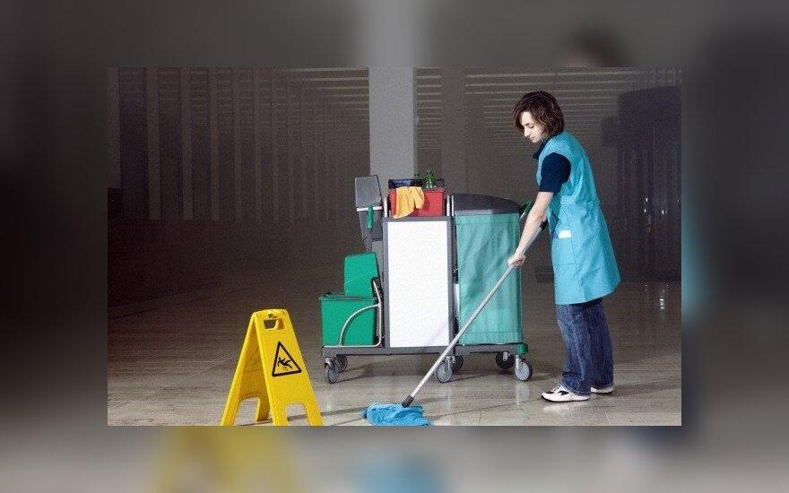 Предприниматель: жизнь уборщицы за рубежом лучше, чем руководителя проектов в Литве