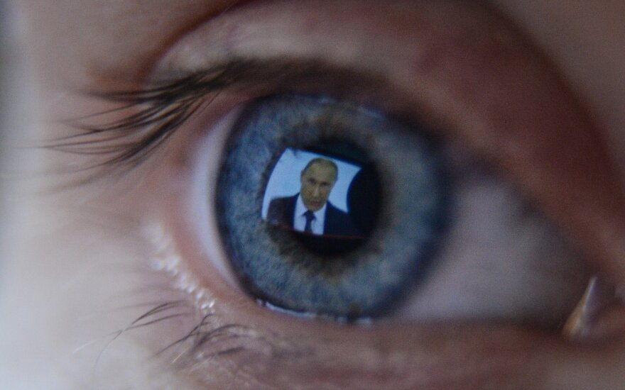 President Putin on TV
