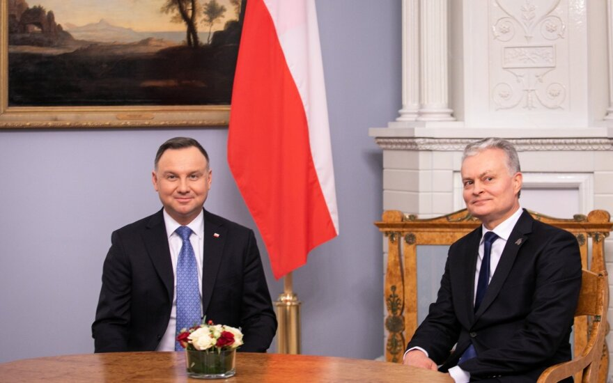 В Литву с двухдневным визитом прибыл президент Польши