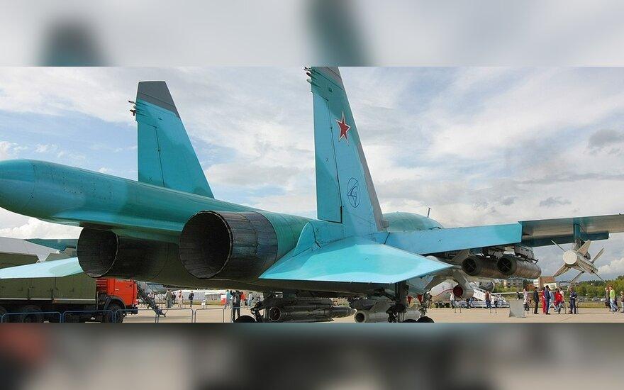 Российские ВВС пополнятся 120 бомбардировщиками Су-34