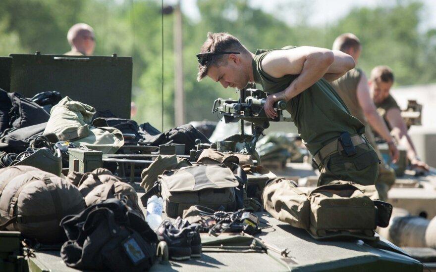 В Литве завершено формирование батальона НАТО