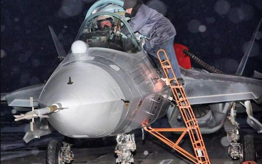 СМИ сообщили о прибытии еще двух Су-57 в Сирию