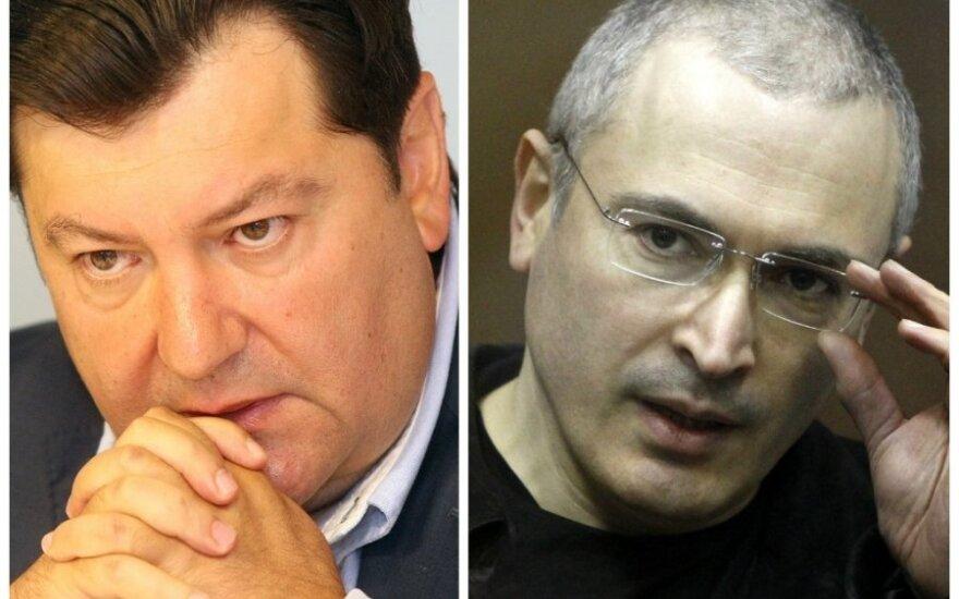 Зингерис обратился к Ходорковскому: свобода не за горами, держитесь (ВИДЕО)