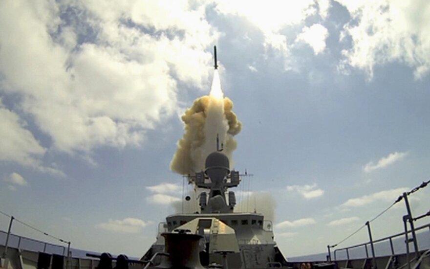 Российский фрегат выпустил ракеты по позициям ИГ