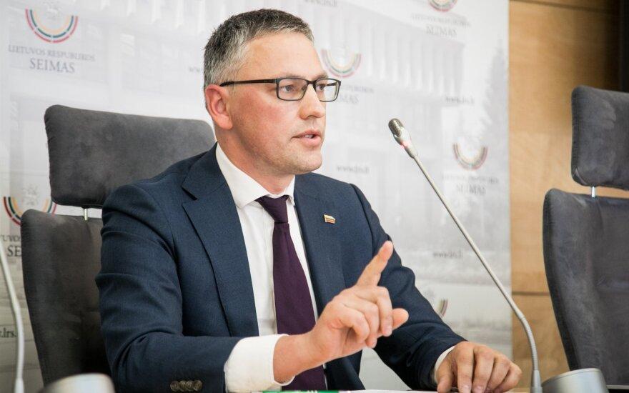 Бакас покинет пост главы КНБО Cейма Литвы