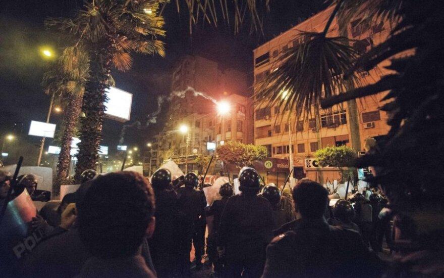"""Волнения в Египте: в Каире сожгли штаб-квартиру """"Братьев-мусульман"""""""