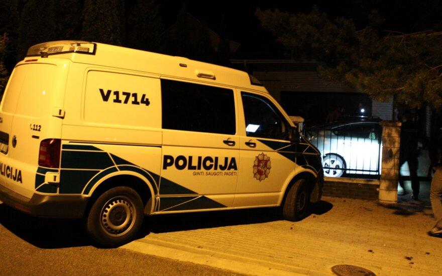 Преследование подозреваемых в Вильнюсе: одному прострелили ногу