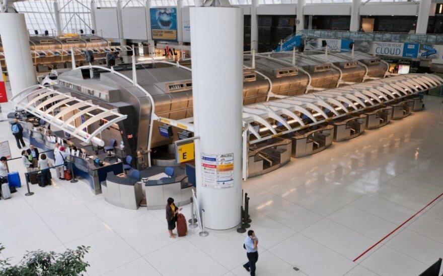 JFK oro uostas Niujorke (JAV)