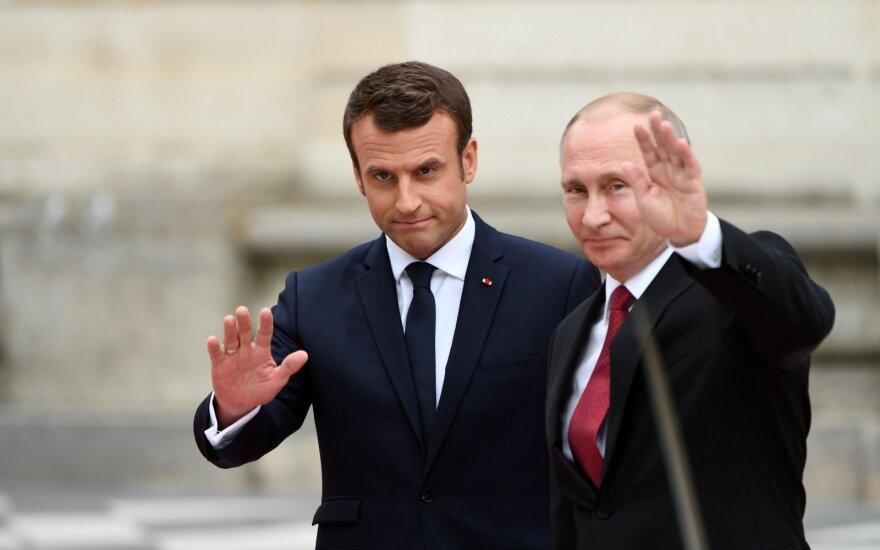 """Путин: европейские страны """"напридумывали мифические российские угрозы"""""""