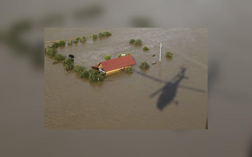 В результате сильнейшего наводнения в Польше есть погибший