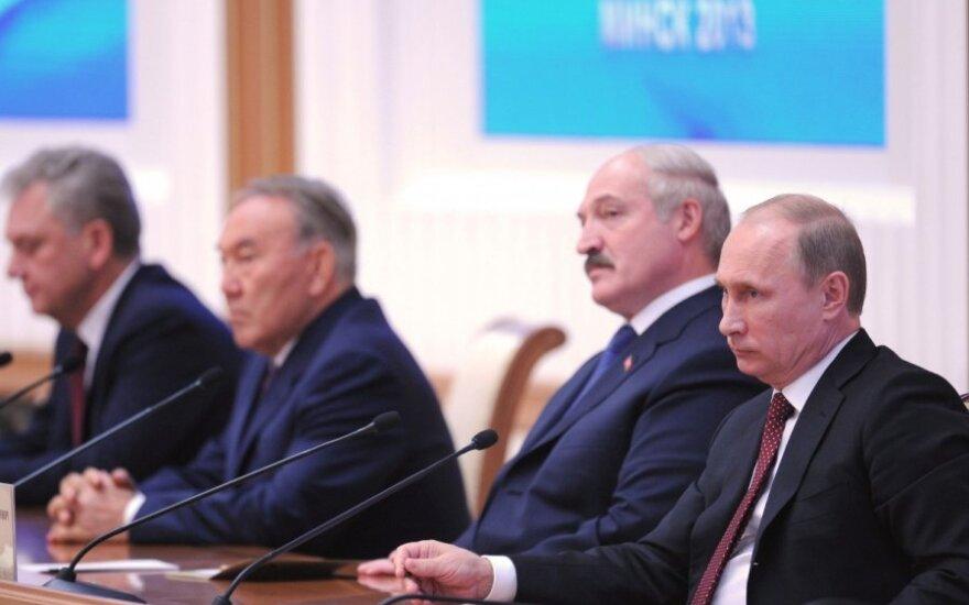 Встреча высшего Евразийского экономического совета в Минске
